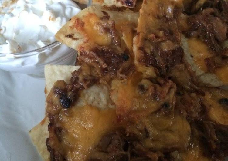 How to Make Quick Pulled Pork Nachos