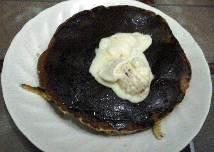 Simple Way to Make Any-night-of-the-week Pancake-oat delight