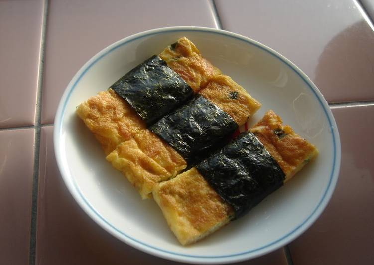 Your Overall Health Can Be Effected By The Foods You Choose To Consume Calcium-Rich Tamagoyaki (Rolled Omelette)