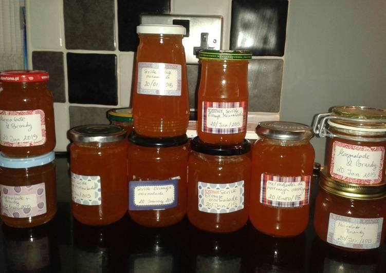 Easiest Way to Prepare Favorite Seville orange marmalade