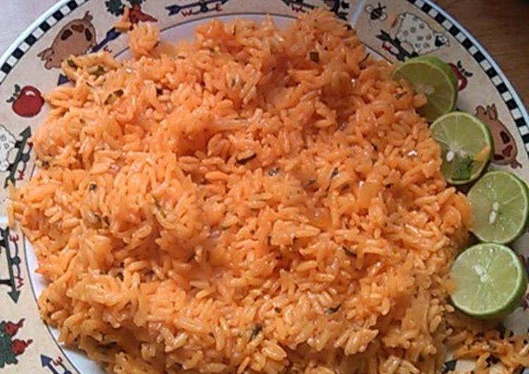 Recipe of Perfect Mexican Rice