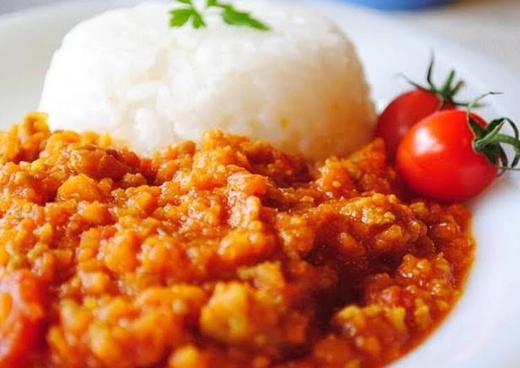 Vegetable-Packed Keema Curry