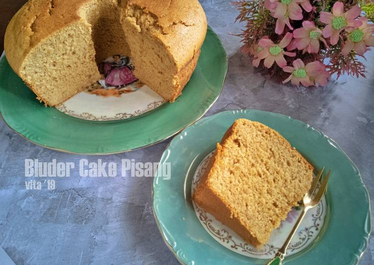 Bluder Cake Pisang