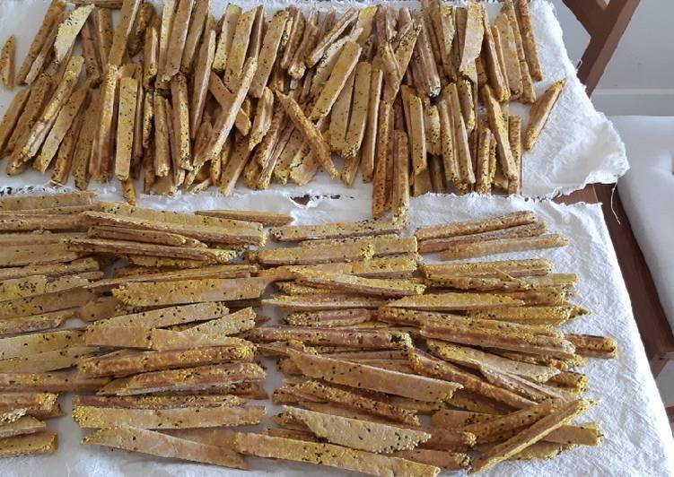 Einkorn Sourdough Sticks