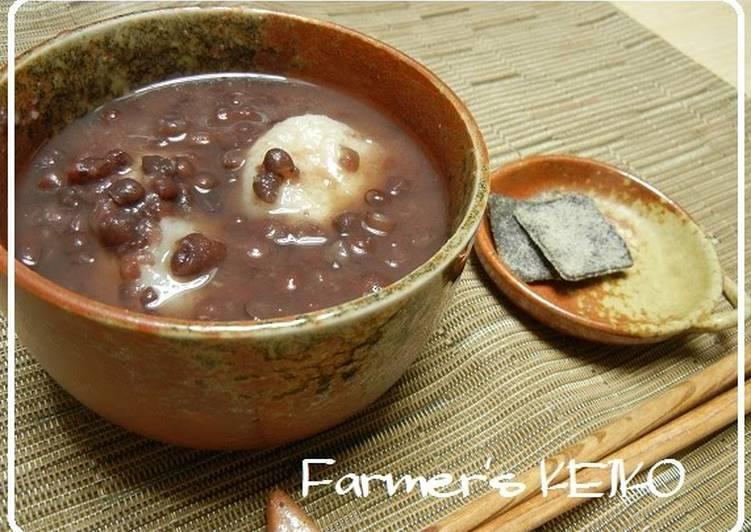 [Farmhouse Recipe] Anko for a Rustic Sweet Adzuki Bean Soup