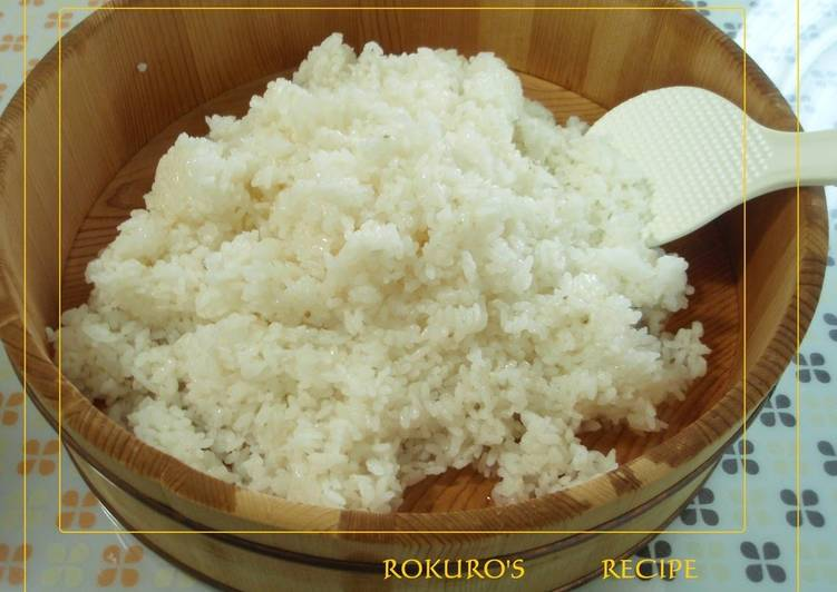 Our Recipe For Sushi Rice