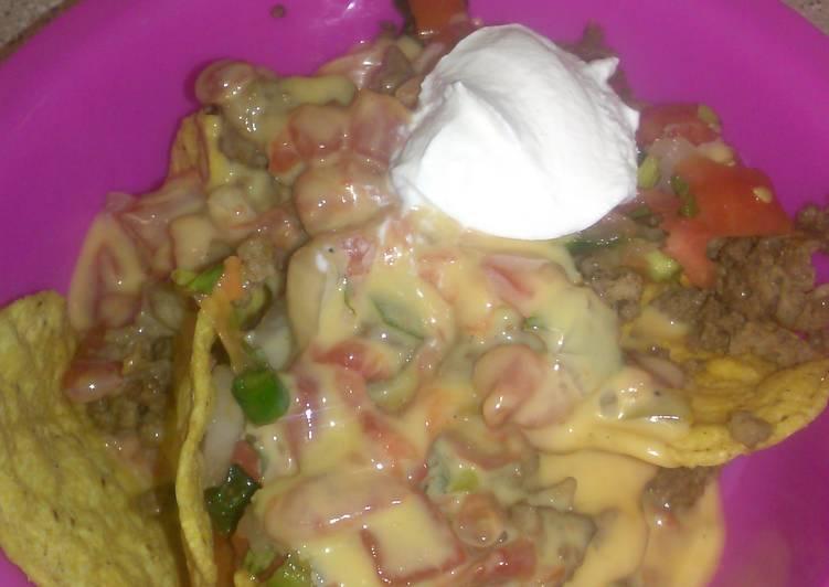 Recipe of Super Quick Homemade Over the top Nachos