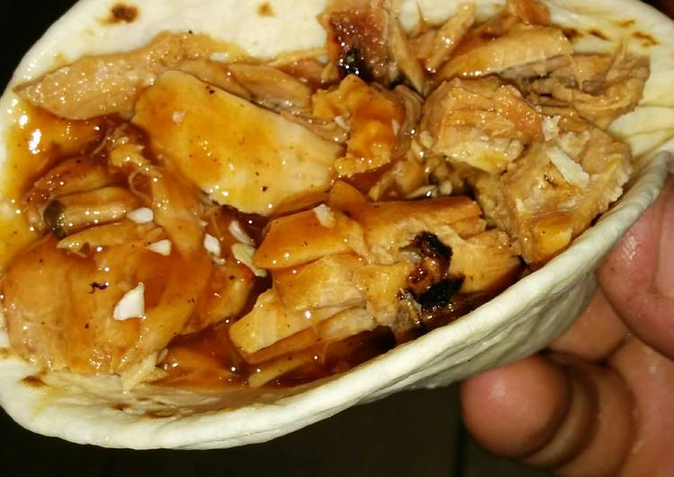 Recipe: Perfect Chefro:Jefro's BBQ pulled pork taco