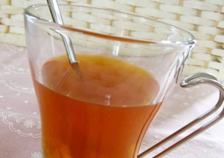 Recipe of Super Quick Homemade Relaxing Yuzu Tea