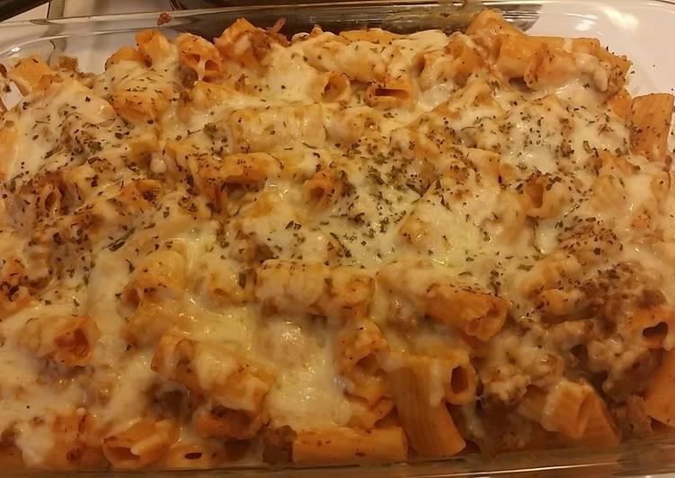 Recipe: Delicious Baked Ziti