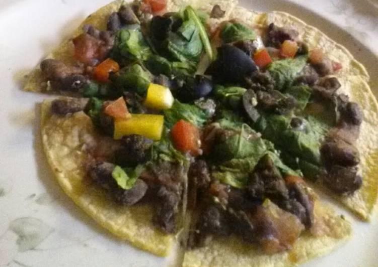 Healthy Pizza Taco