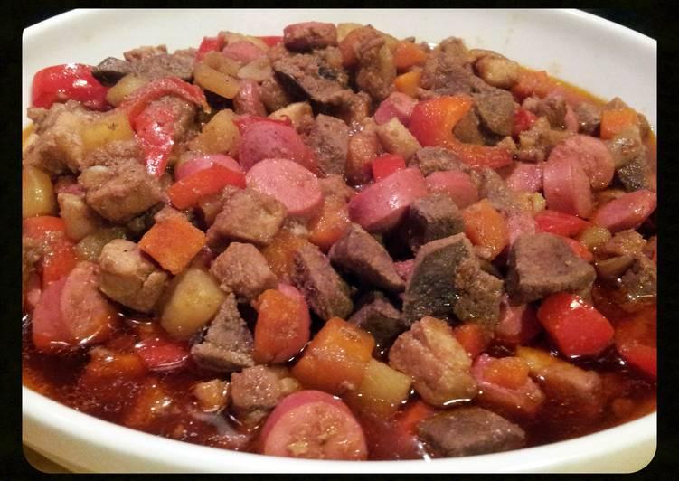 Recipe of Homemade AMIEs PORK MENUDO