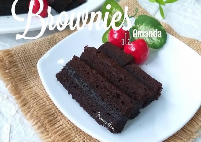 Brownies Kukus ala Amanda | Bronis | Bronies | Brownis | Brownie