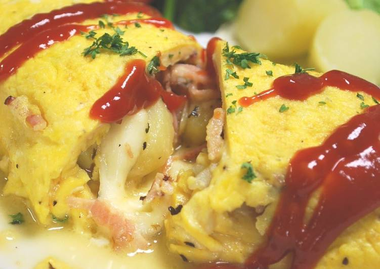 Recipe of Award-winning An Omelette to Satisfying Both Body and Soul!