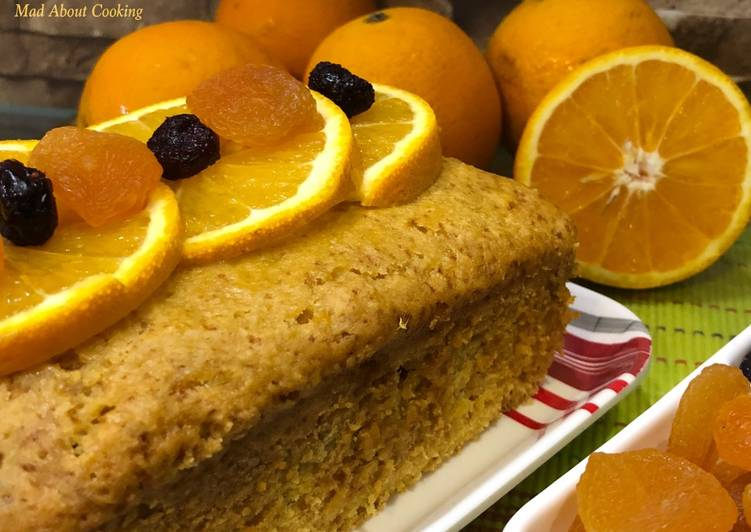 Steps to Make Award-winning Whole Orange Cranberry Cake – Pressure Cooker Cake