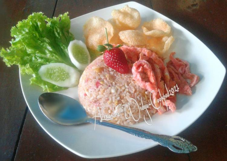 Nasi Goreng Strawberry
