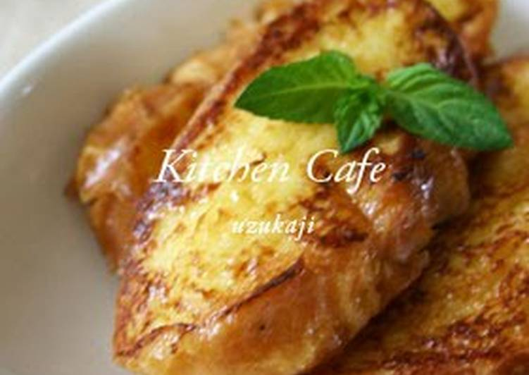Crispy and Fluffy French Toast