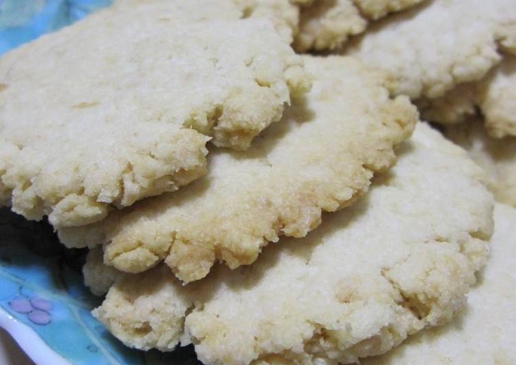 Quick, Simple, Delicious Breadcrumb Cookies
