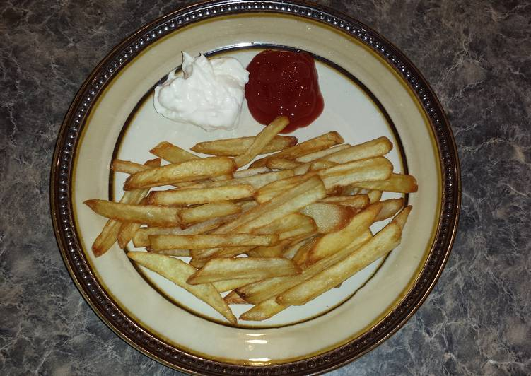 The BEST French fries ever