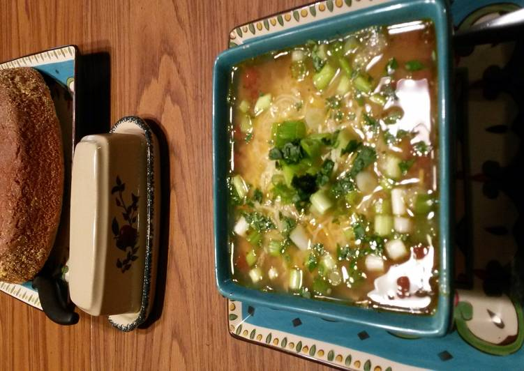 Recipe of Homemade Chicken Taco soup