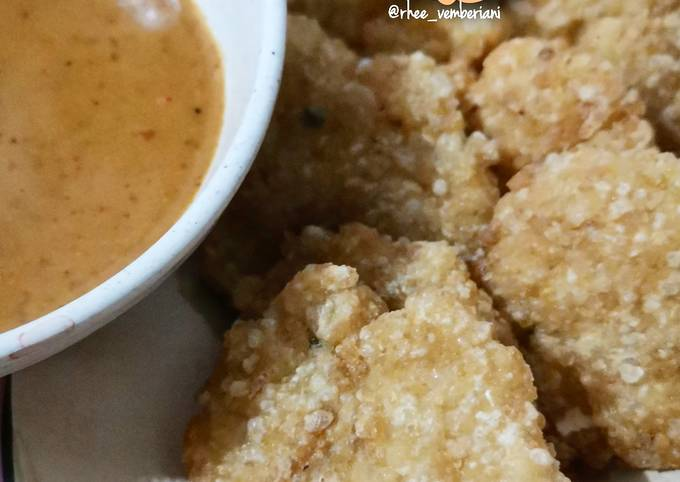 Cireng Nasi (sisa)