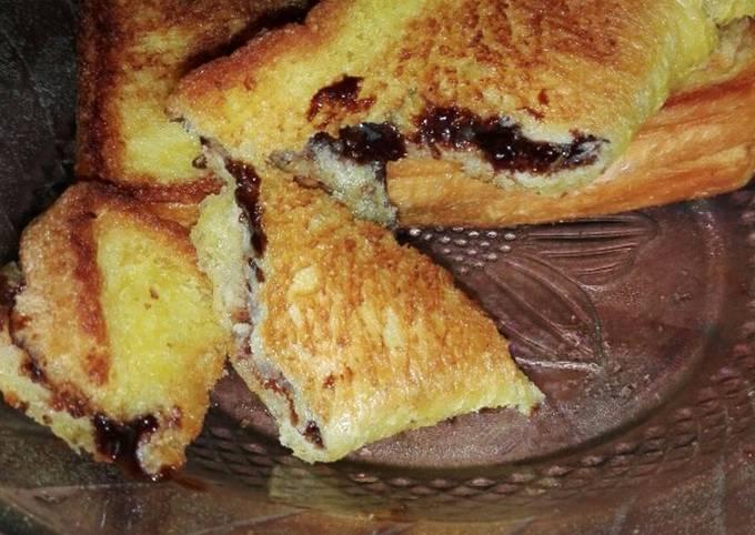 Roti Panggang Margarine Simple^^