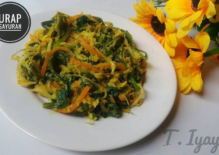 Urap sayuran (tumis)