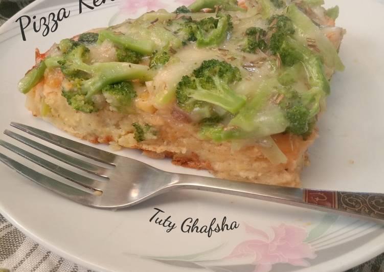 Pizza Kentang Brokoli