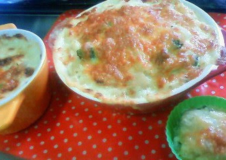 Recipe: Yummy Macaroni Salad Gratin