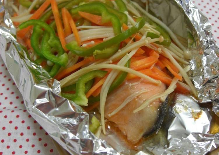 Easy Foil-baked Salmon