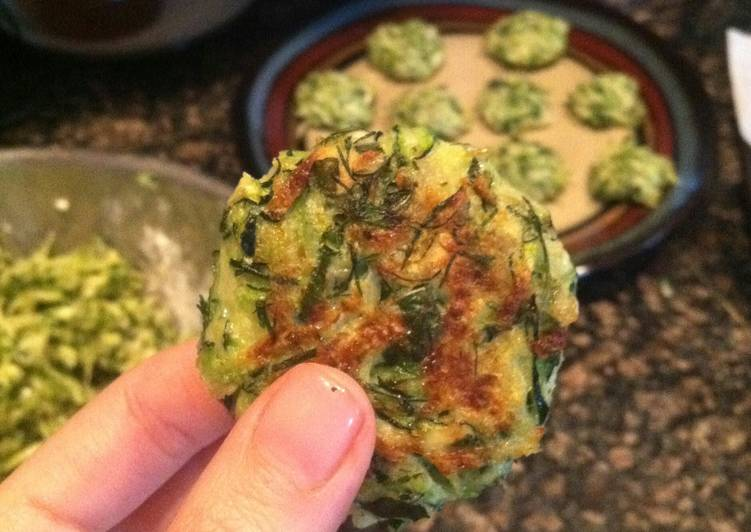 Living Greener for Greater Health By Consuming Superfoods Kolokithokeftedes (Greek zucchini balls)