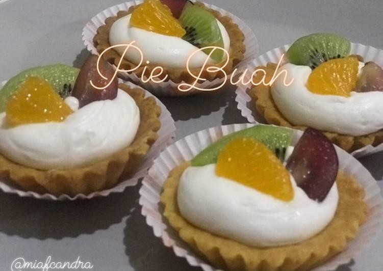 Resep Pie buah/fruit pie Bikin Jadi Laper