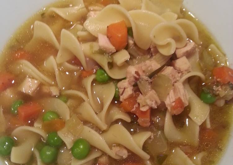 Pressure Cooker (Electric) Chicken Noodle Soup