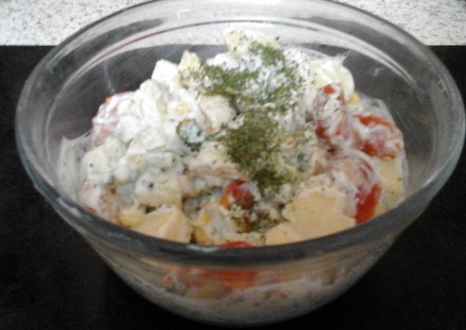 My Cool Sweet Potato Salad 😊
