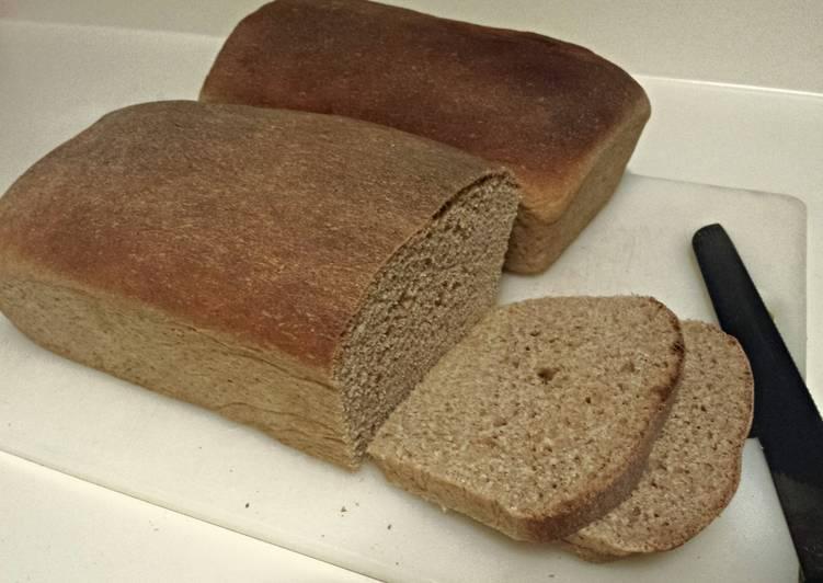 Non-Dairy Honey Wheat bread