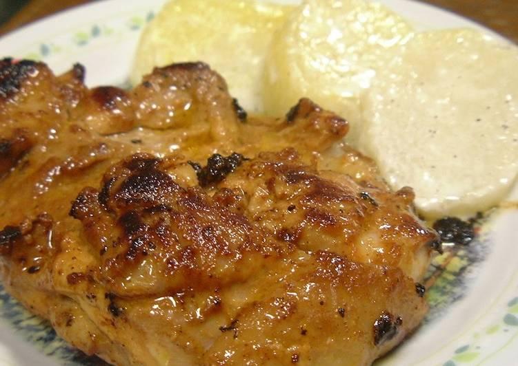 No Bowl Needed! Easy Tandoori Chicken