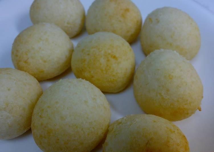 Recipe of Homemade Soft and Chewy Okara Pon De Queijo