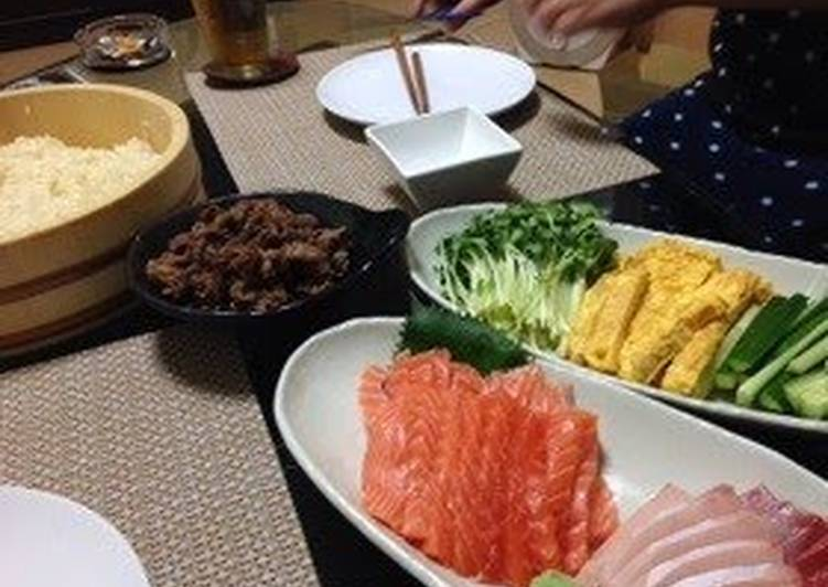 Sushi Rice Hand Rolled Sushi