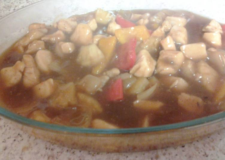 Step-by-Step Guide to Make Homemade Moes Sweet And Sour Chicken