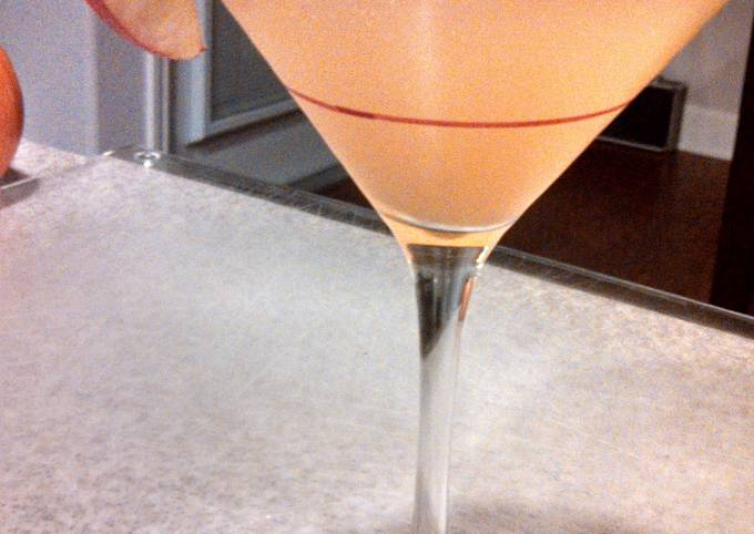 Spiced Apple Ale Martini