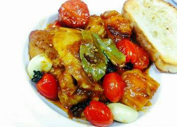 How to Recipe Delicious Kanyas Chicken Roasted with Honey and Ginger