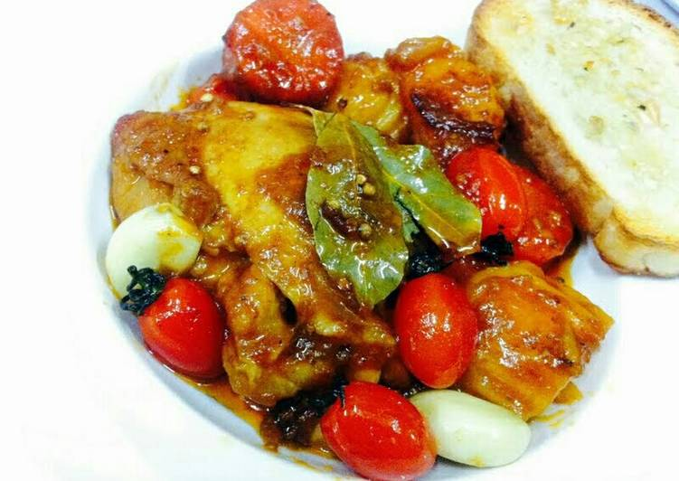 Kanya's Chicken Roasted with Honey and Ginger