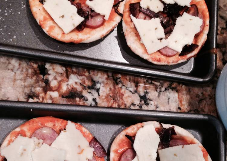 How to Make Top-Rated Chipotle Pork Taco Mini Pizza