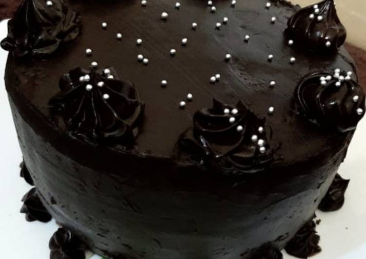 Recipe of Super Quick Homemade Chocolate truffle cake