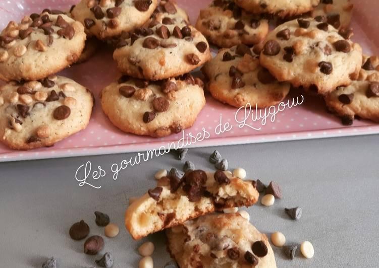 Cookies aux 3 pépites de chocolat