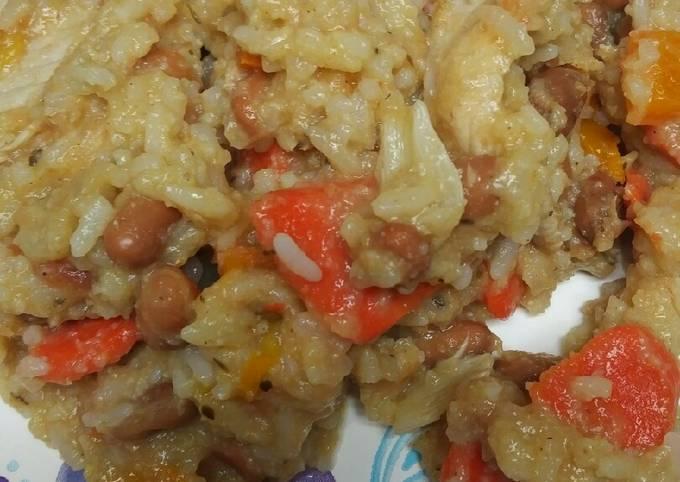 Maize Porridge and Pork Stew