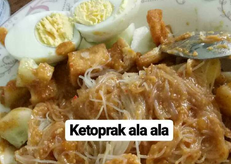 Ketoprak Simple