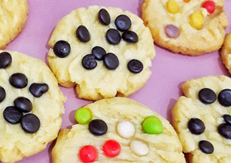 Cara Gampang Menyiapkan Cookies/kukis kering no oven Anti Gagal