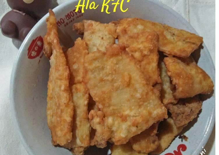 Telur Dadar Krispy Ala KFC