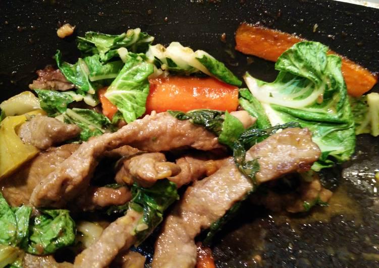 Beef & Bok Choy Stir Fry – All Recipes Cookbooks
